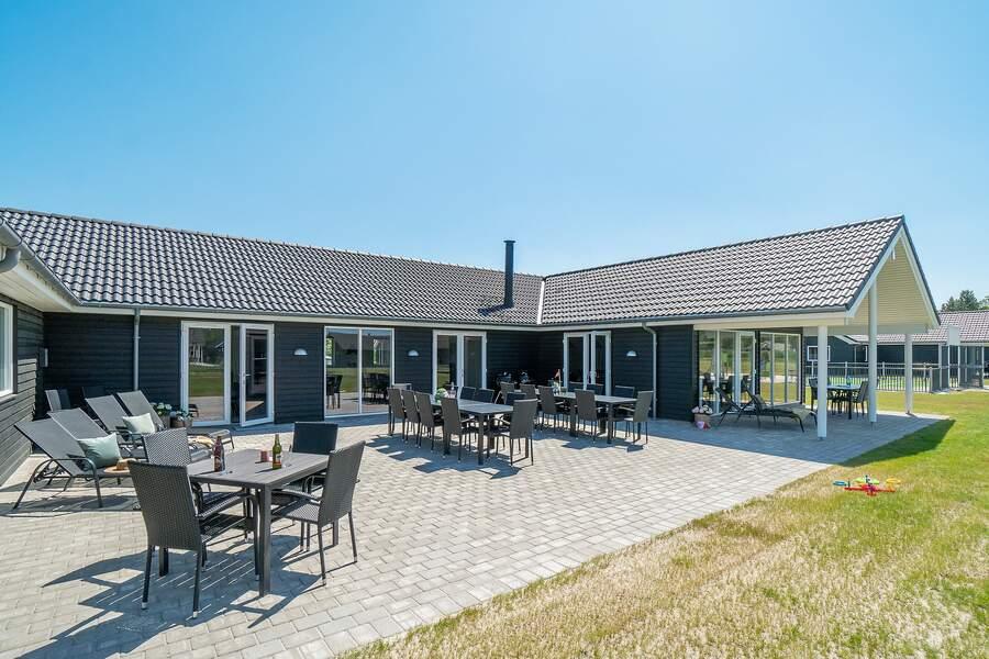 30 persoons vakantiehuis in West-Jutland midden