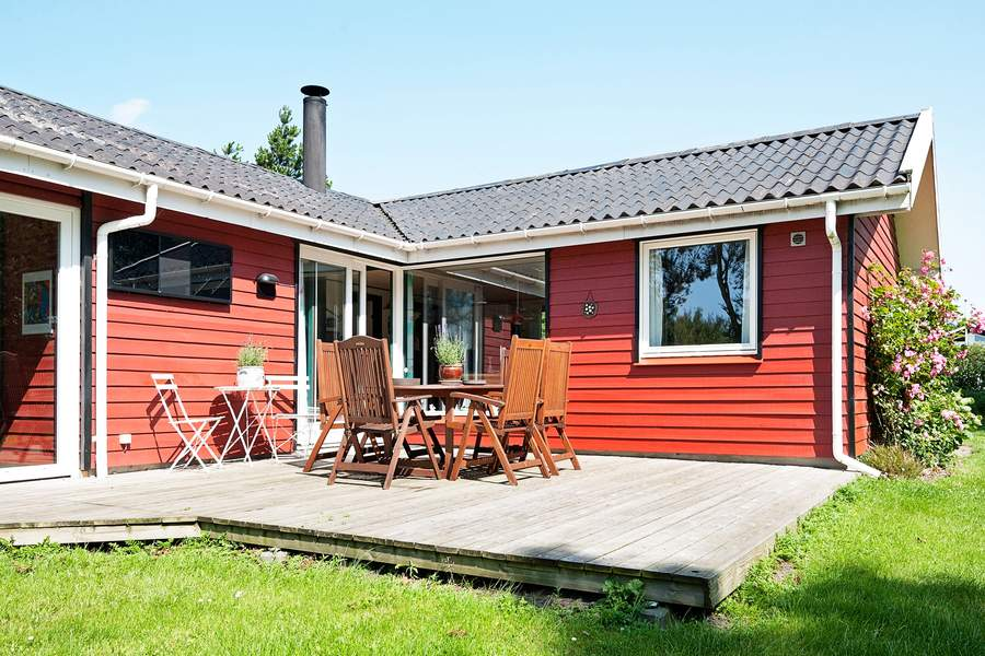 6 persoons vakantiehuis in West-Jutland midden