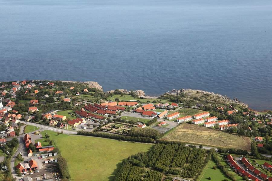 Vakantie in Vakantiepark Danland Gudhjem Bornholm in Gudhjem in Denemarken