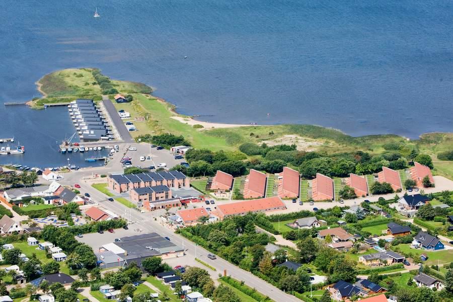 Vakantie in Vakantiepark Danland Bork Havn in Nørre Bork in Denemarken